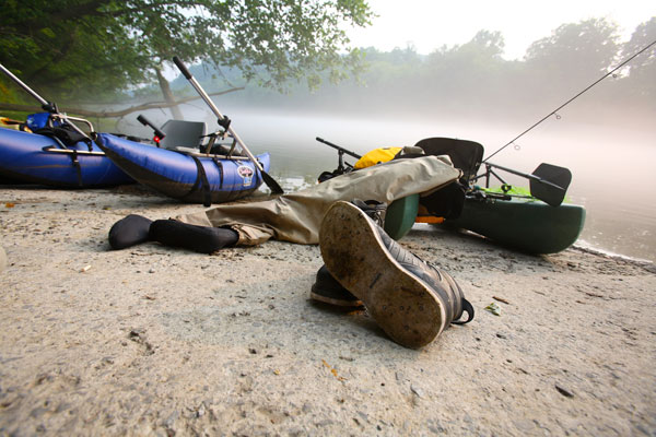 Tips for using personal pontoon boats to float Kentucky streams