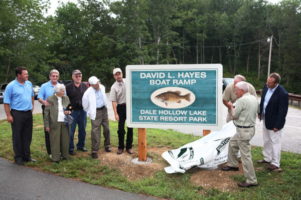 Dale Hollow Lake boat ramp renamed for angler who caught world record smallmouth bass