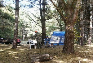 Family Camping in eastern Kentucky