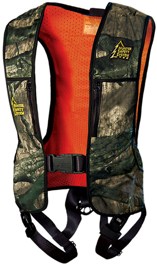 Wearing a full-body harness is the first rule of treestand safety