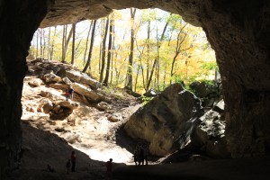 Carter Caves in the fall