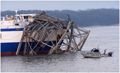 Conservation officers among first responders when Kentucky Lake bridge collapses