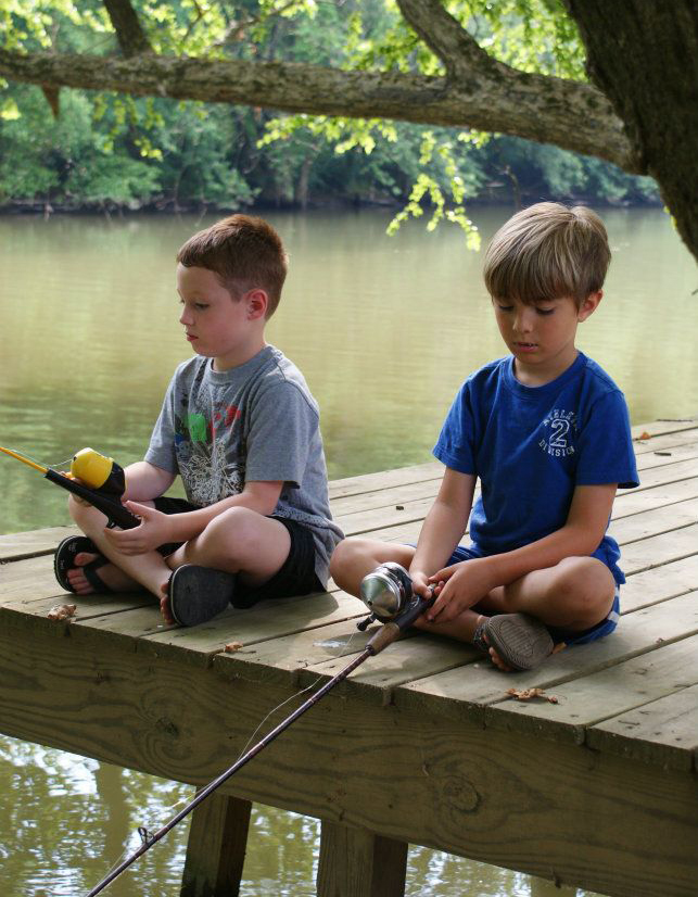 Cave Run Kids Fishing Derby June 7th