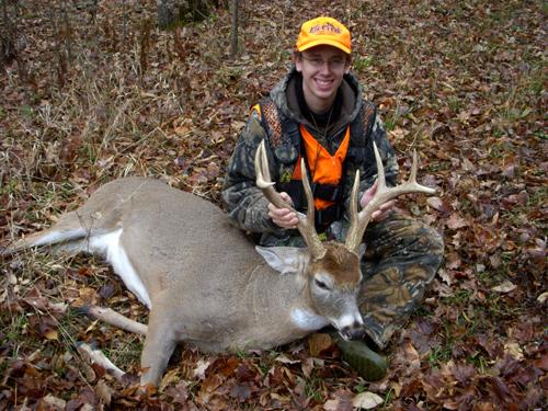 Hunters bagged a record number of deer during modern gun season