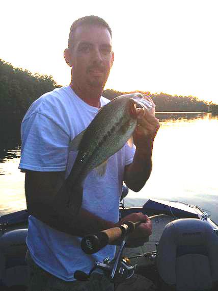 Eastern kentucky fishing report aug 7 kentuckyangling for Kentucky lake fishing reports