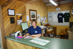 Sherry Samuel, one of the owners of Fallsburg  Falls Campground