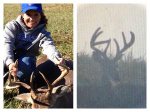Shannon Roberts Bags a Big Buck