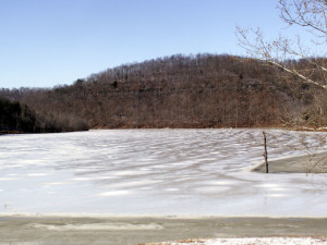 A view of the cove near author Chris Erwin's camp on Cave Run Lake. (Photo by Chris Erwin)