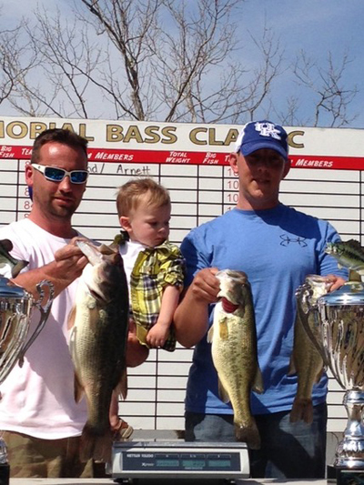 Friends of Cave Run Memorial Bass Tournament 2014