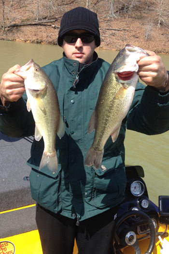 This fishing report was compiled for the week of April 14, 2014