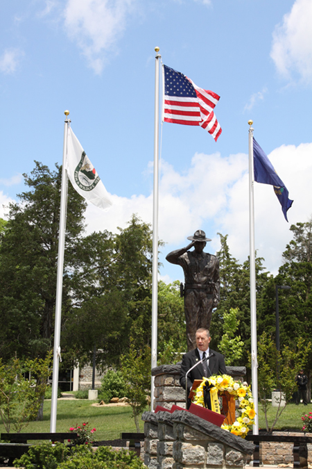 Memorial dedicated for Kentucky's fallen conservation officers