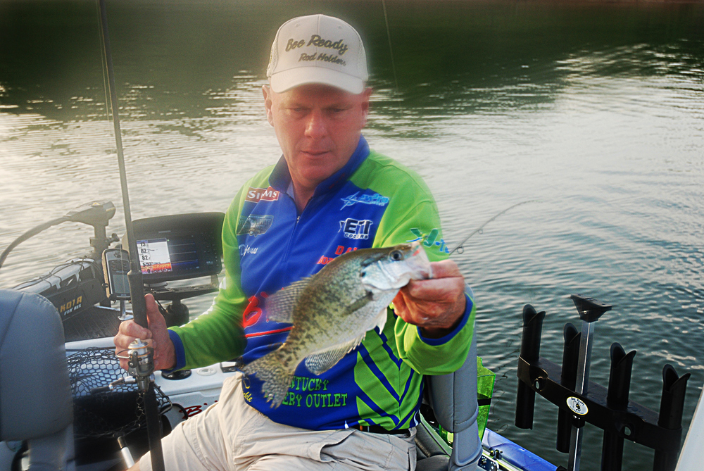 Davy jones and the green river lake bonanza for Crappie fishing in ky