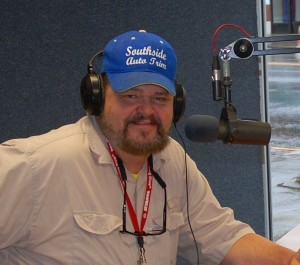 Kentucky Angling News Founder and Publisher Chris Erwin. (Photo by Linda Erwin)