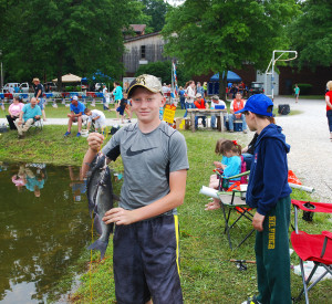 2015 Kids Fishing Derby / Cave Run Edition