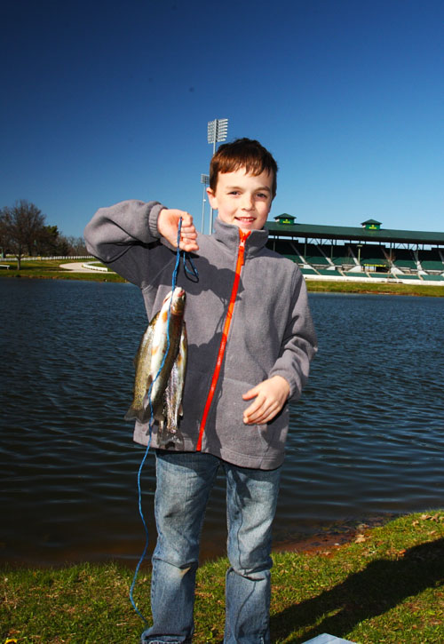 FINs Lakes Stockings Begin This Month, Offering Excellent Late Winter Fishing