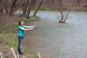 Additional Fishing Access Opens at Taylorsville Lake WMA