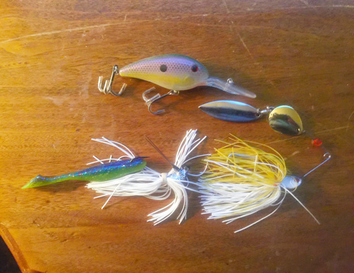 Three baits to start the spring season