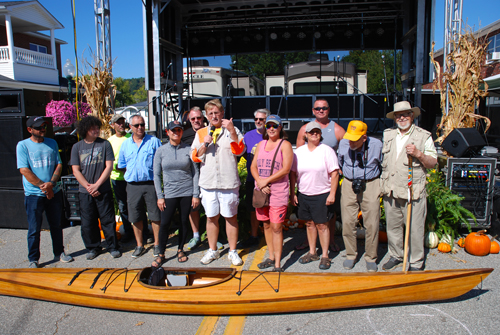 The Soc and Sam Canoe and Kayak Race is in the Books